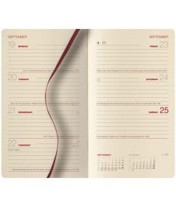 Castelli Nebraska Comb Bound Pocket Portrait Diary Insert