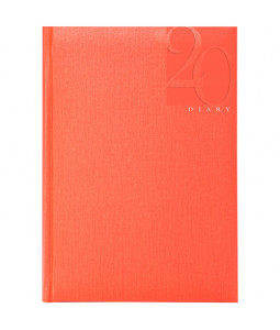 Caribe  A5 Daily Diary with White Pages
