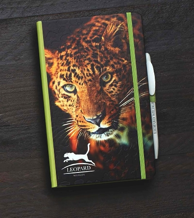 Custom branded notebooks : Digital printing