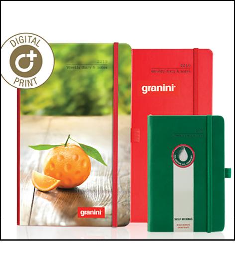 Custom branded notebooks : Digital printing