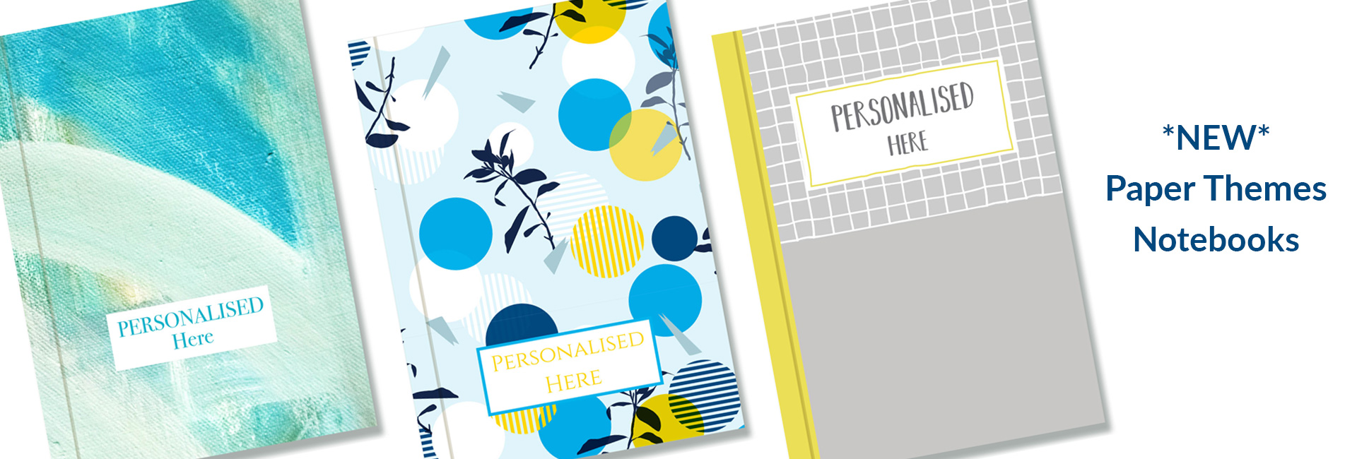 Personalisation options for your Company Notebooks or Diaries